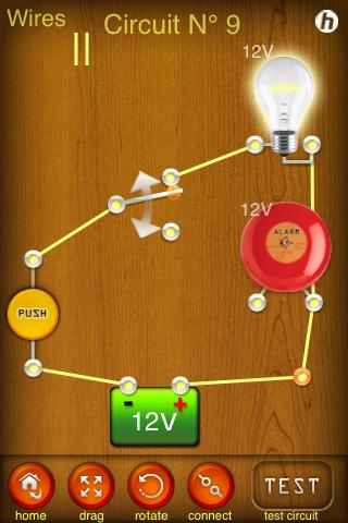 Screenshot Electric Circuits